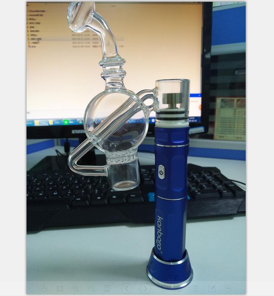 Kanboro стеклянный барботер для heanil 510nail и ecube воск vape pen dab rig инструменты с OEM обслуживанием E сигареты оптом