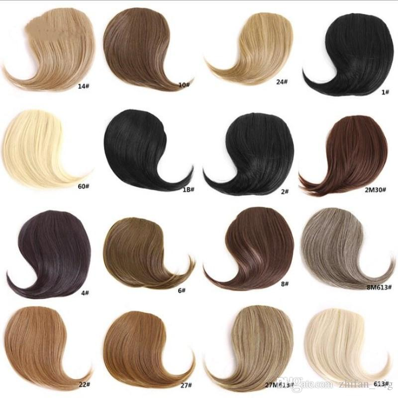 Z&F Girls Hair Accessories Xpression Braiding Hair Bangs Extended Traceless For Lady Charming Wholesale Colors Available