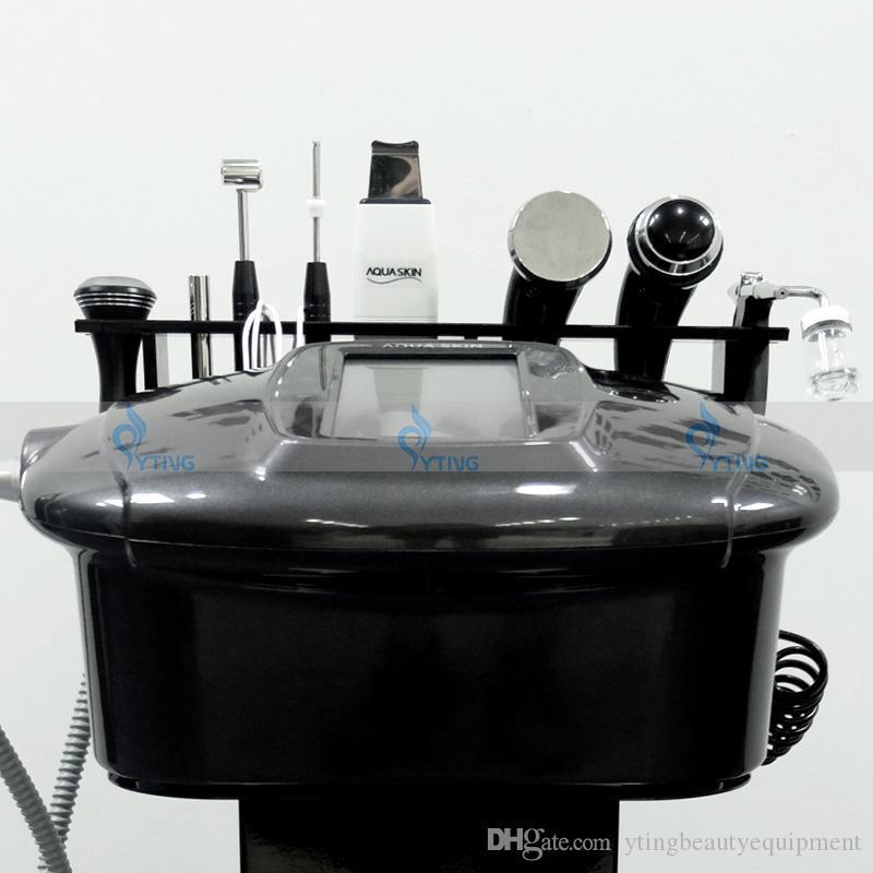 2018 Najnowszy ultradźwiękowy skóra płukanki tlenowe odrzutowy instrument głęboki system czyszczący usunięcie zmarszczek do usuwania spa odmładzanie ciała
