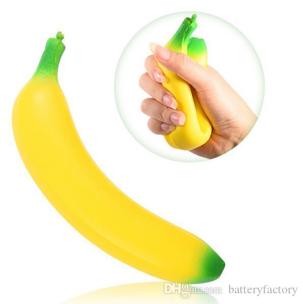 바나나 짜기 모방 불안한 장난감 짜기 짜기 짜기 선물 향기 향기로운 점보 활발한 장식 전화 스트랩 무료 배송
