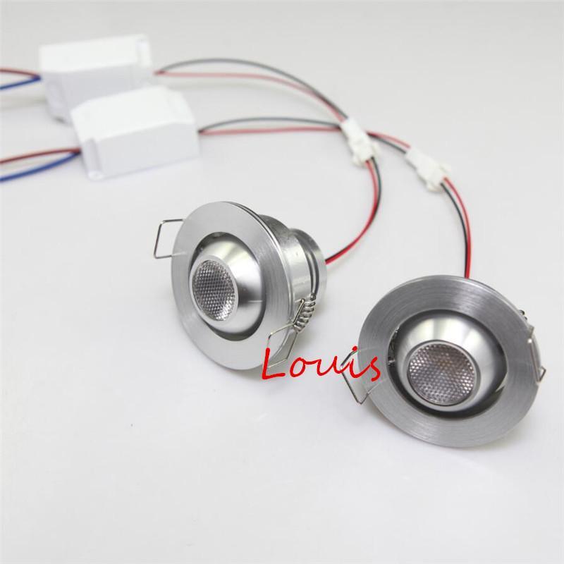 Mini 3W Dimmable Recessed LED downlight 3W dimming LED Spot light led ceiling lamp AC110V 220V 10pcs/lot