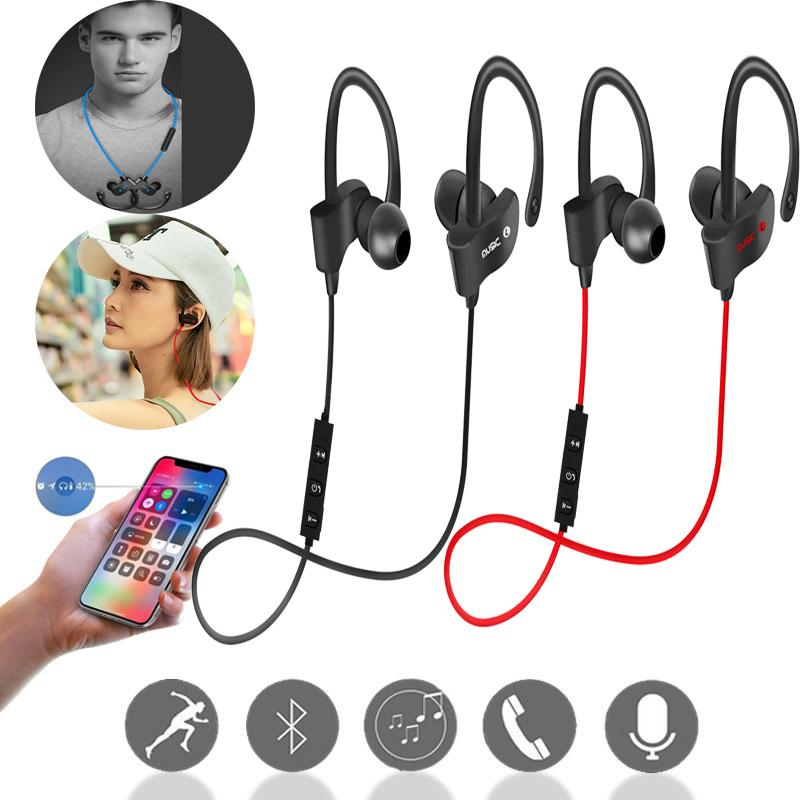 Top Sales Wireless Earphones Bluetooth Headphone Sport Headset Bass Waterproof Auriculares With Mic For Iphone Android Xiaomi Best In Ear Headphones Best Noise Cancelling Headphones From Meiladyjun 13 07 Dhgate Com
