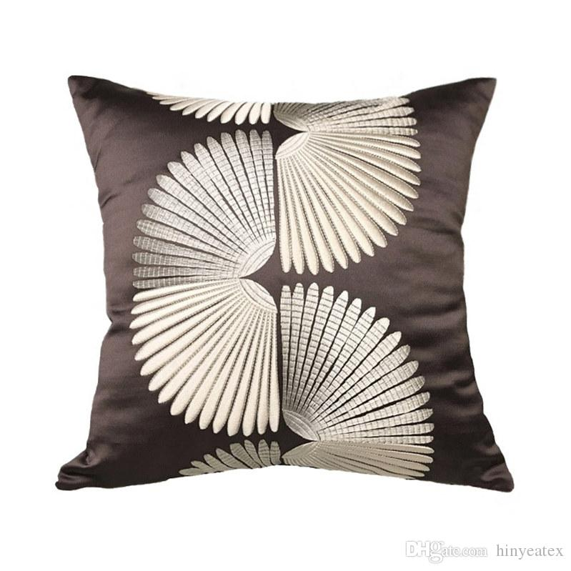 Contemporary Square Throw Pillow