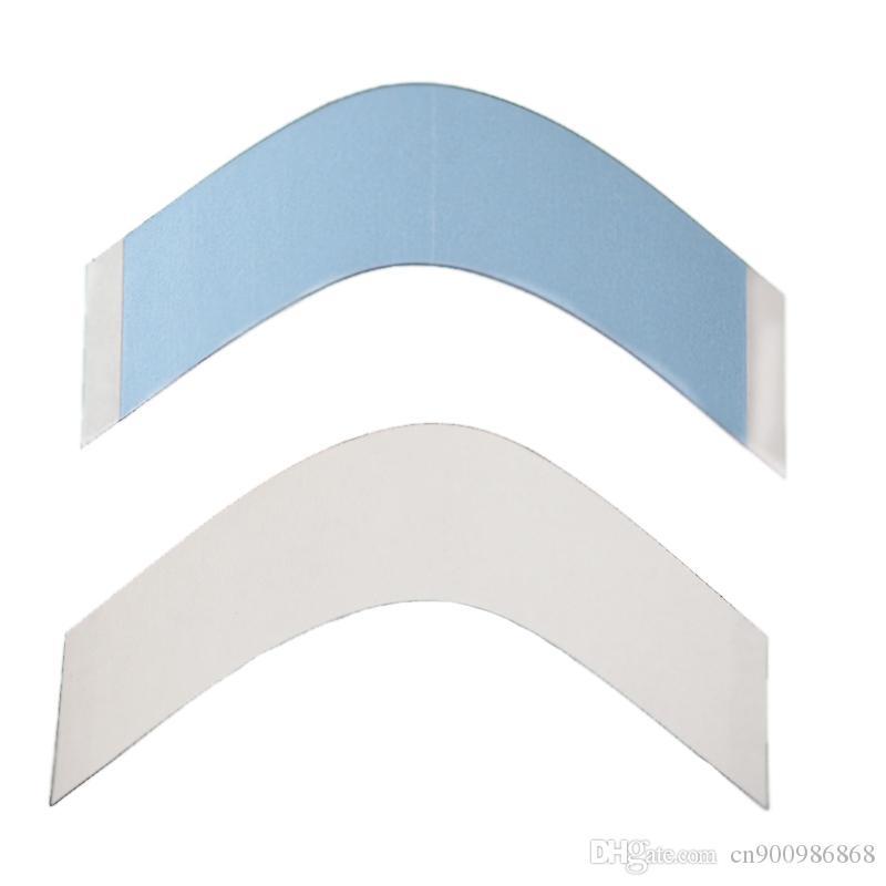 Frete grátis 36 pc / lote, laço Azul de apoio de alta qualidade forte fita dupla para perucas / peruca dos homens