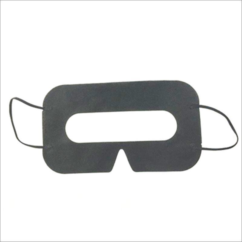 100 pcs preto higiene protetora máscara de olho VR máscara descartável Eyemask não tecido pad para óculos 3D VR
