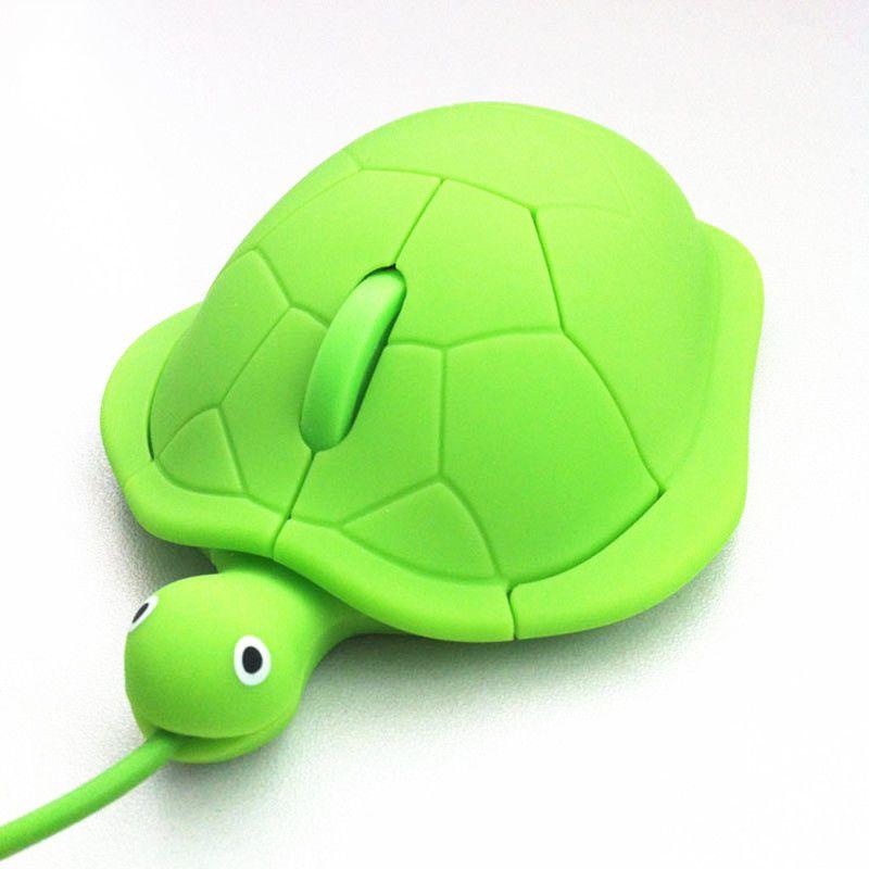 Mini sevimli kablo esport oyun faresi 2.0 usb 3D hayvan fare bilgisayar masaüstü evrensel komik hediye