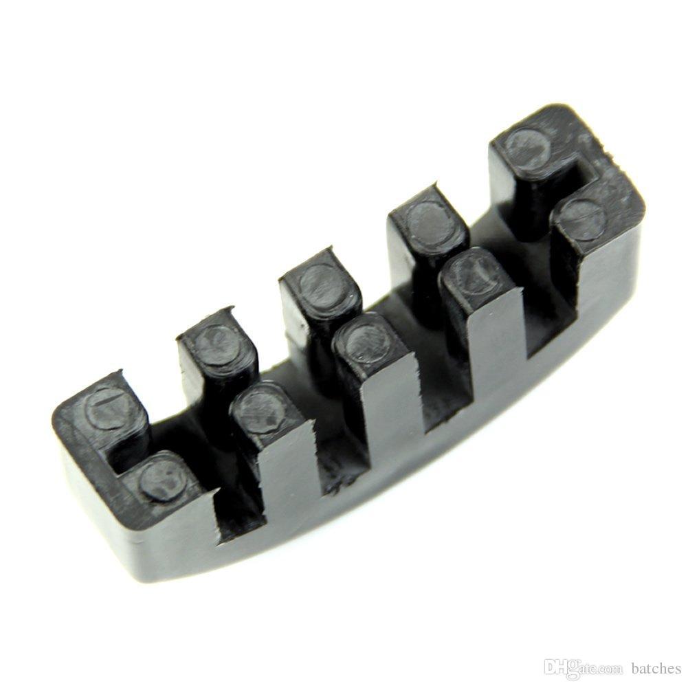 도매 5X 바이올린 연습 무거운 검은 고무 바이올린 음소거 소음기 전기
