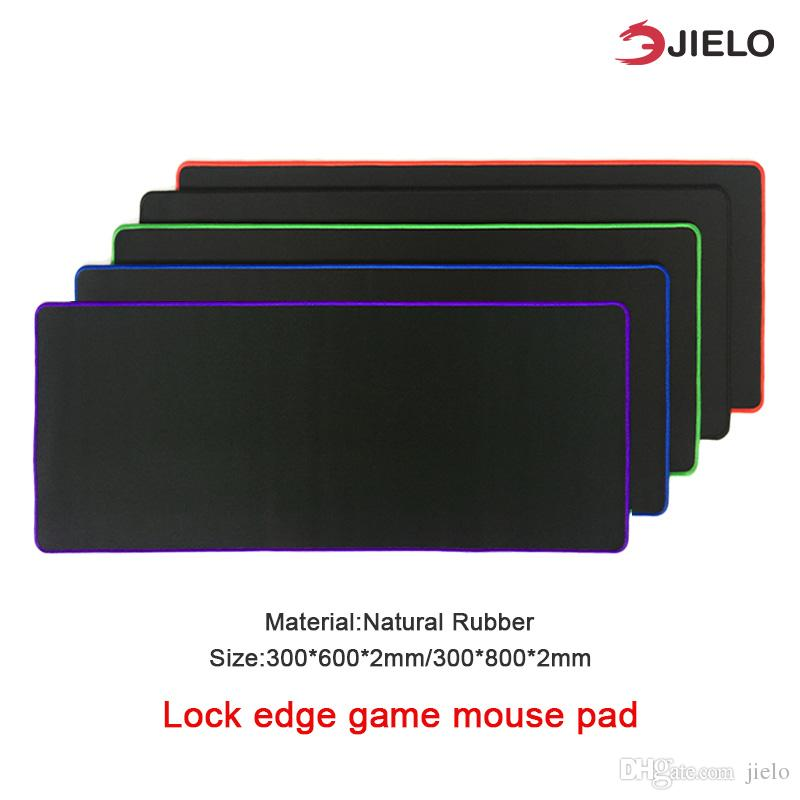 Gaming mouse pad Waterproof Desk Game Computer office household New Super Large Size Optional Mouse Pad Natural Rubber Material Retail link