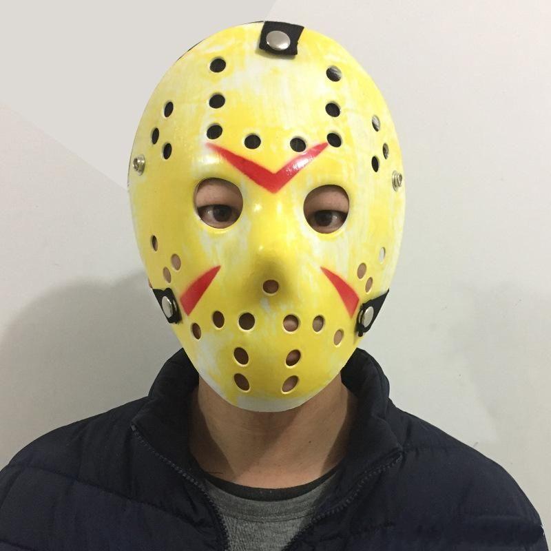 Jason Voorhees Friday the 13th Horror Movie Hockey Mask Scary Halloween Mask