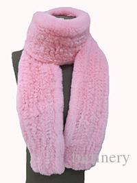 Lady's Real Rex Rabbit Fur Nice Knitted Scarf /Shawl /13 Colors/L' 170 cm Winter Fashion Warm