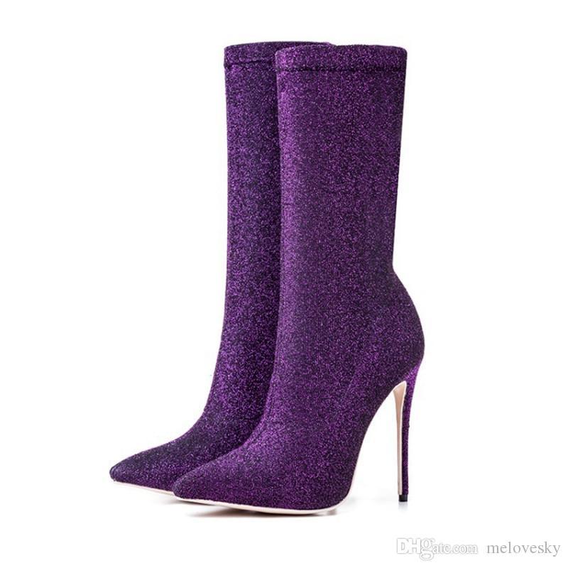 Designer Women Fashion High Heel Shoes Fashion Designer Women Shoes Superstars Fashion Half Boots Women Dress Shoes Plus Size