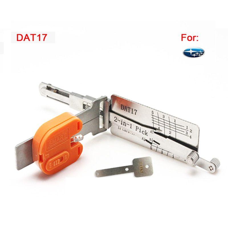 Auto Smart DAT17 2 en 1 auto pick et décodeur pour Subaru, outil de serrurier livraison gratuite