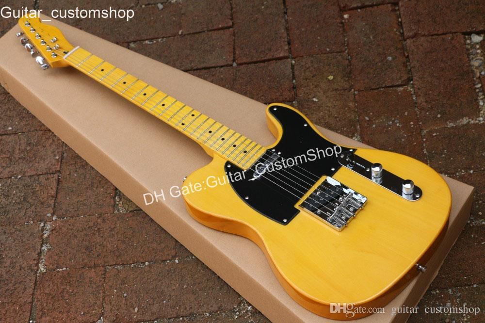 Custom shop 20th Anniversary chitarra elettrica, trans giallo invecchiato chitarra, spedizione gratuita