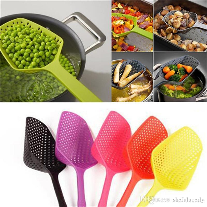 Home Kitchen Accessories Scoop Drain Gadgets Strainer Vegies Large Tool 2020 Hot