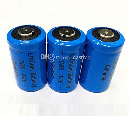 400pcs / lot 3V CR2 al litio non ricaricabili macchina fotografica Photo Batteria 2 CR CR2 CR2 DL KCR2 CR17355