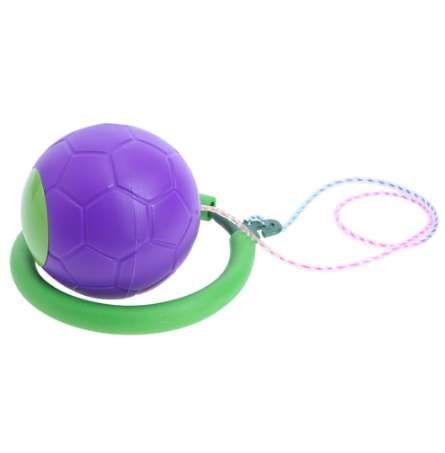 Tobillo que salta el juguete de la bola Niños que hacen saltar el juego malabares del deporte Actividad al aire libre de los cabritos del entrenamiento de la aptitud Salte la bola del juguete