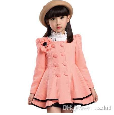 Мода зимняя куртка для девочек 4-12 год зимние детские куртки высокое качество пальто девочка верхняя одежда