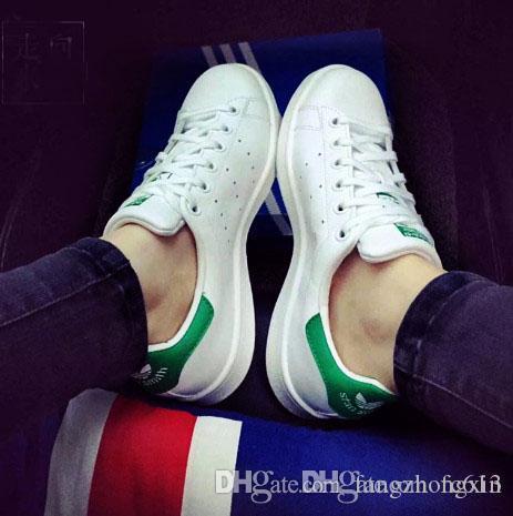 Nakliye Marka Yeni Stan Ayakkabı Moda Smith Sneakers Rahat Deri Erkek Kadın Spor Ayakkabı Stan Smith Sneakers Klasik Tasarımcı Ayakkabı