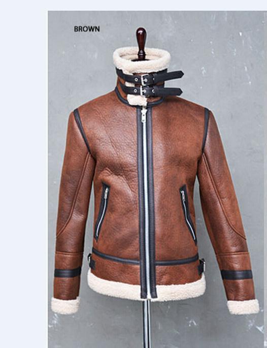 JOTHIN Slim Jeansjacke Herren Denim Mantel Freizeit Jacket