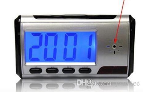 الكاميرا على مدار الساعة HD أحدث المنبه الرقمي للكشف عن الحركة مسجل الصوت جهاز الكمبيوتر الفيديو الرقمي مع التحكم عن بعد
