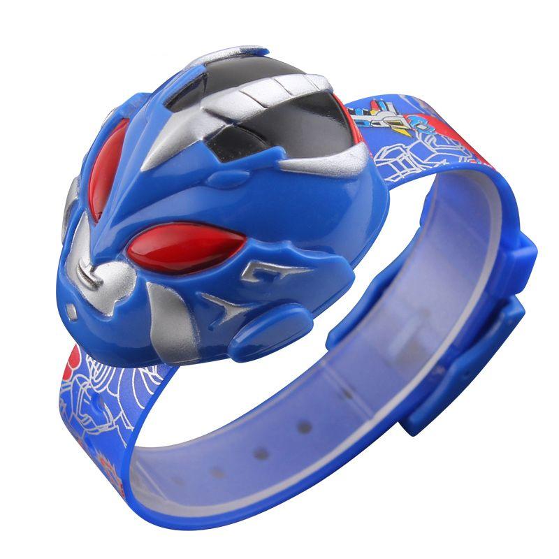 SKMEI 1239 Children Watch Digital Wristwatches Cartoon Superman Toy Shape Dial Sports Watches For Kids Relogio Relojes