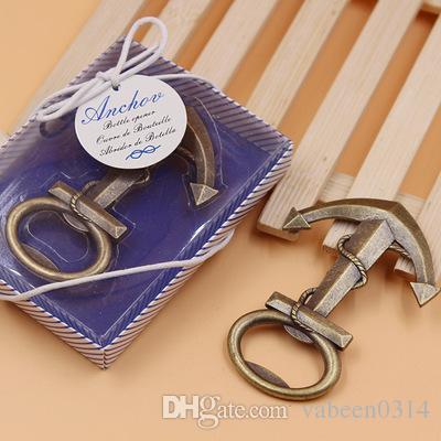 Commercio all'ingrosso regali di nozze piccolo regalo bomboniere matrimonio / moda americana europeo e Opener - Blue Anchor Opener