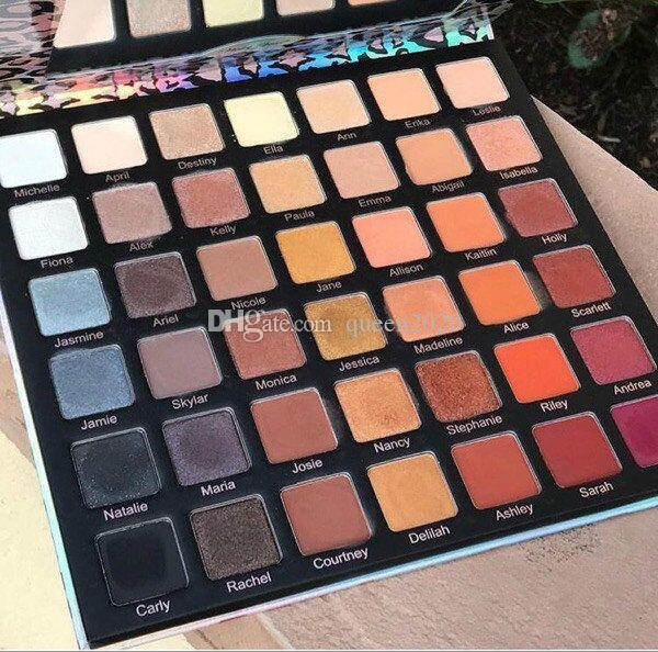 In Stock Violet Voss 42 Color Eye Shadow Palette Ride Or Die Pigmented Pressed Powder Palette Free shipping