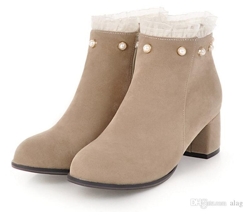 Enumerar Tregua Manhattan  Compre Botas Para Mujer Otoño Invierno 2019 Moda De Encaje Ahuecan Hacia  Fuera Los Zapatos De Las Señoras Mujer De Cuero Sexy Botines Para Mujer  Botas Mujer A 27,82 € Del Alag | DHgate.Com