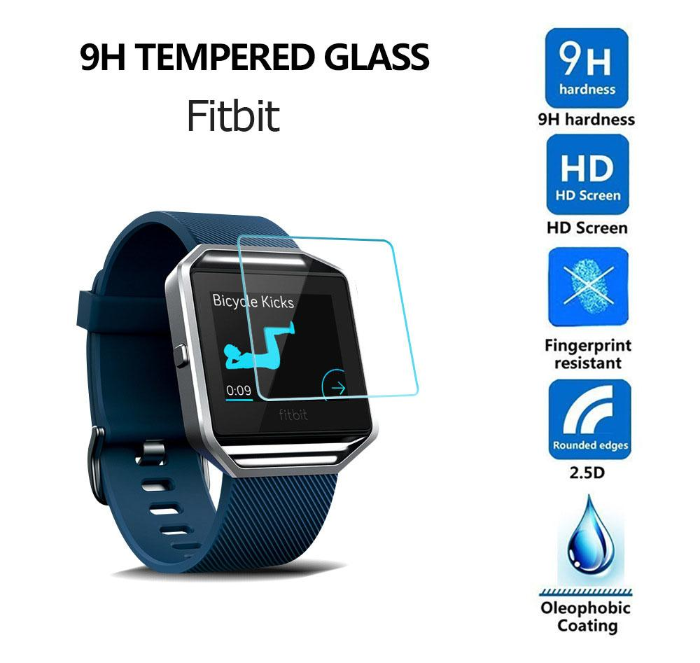 Tempered Glass For Samsung Smart Watch Active 42mm 46mm Gear Sport S3 S4 For Fitbit Versa 2 Lite Screen Protector Package