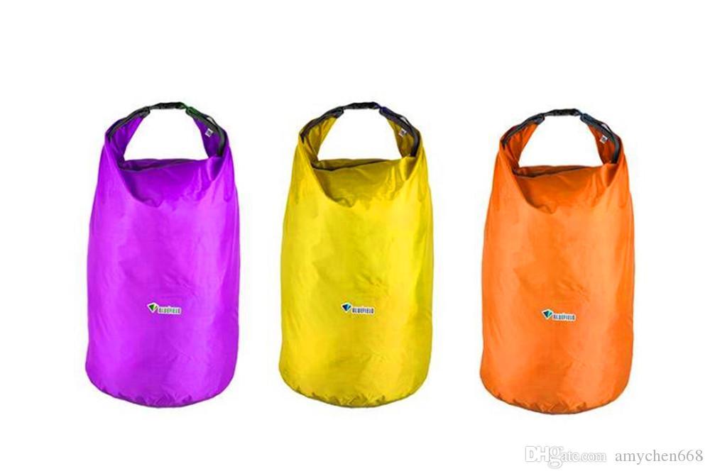 Sports Outdoor Camping Travel 20L 40L 70L Folding Portable Waterproof Bag Storage Dry Bag for Canoe Kayak Rafting Kit Equipment