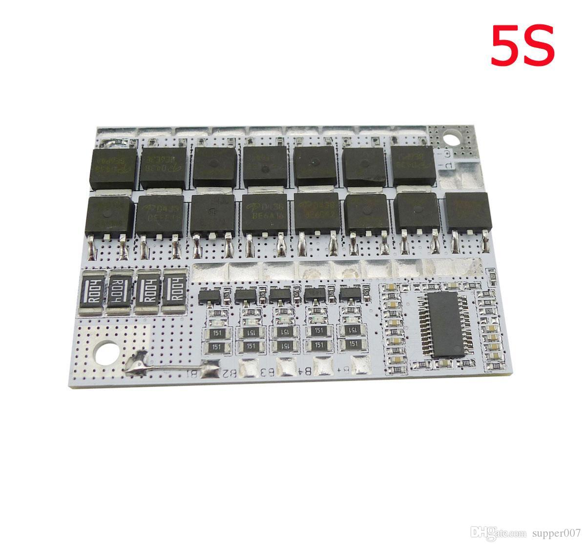 18V 100A 5S BMS Li-ion LMO Ternary Lithium Battery Protection Circuit Board
