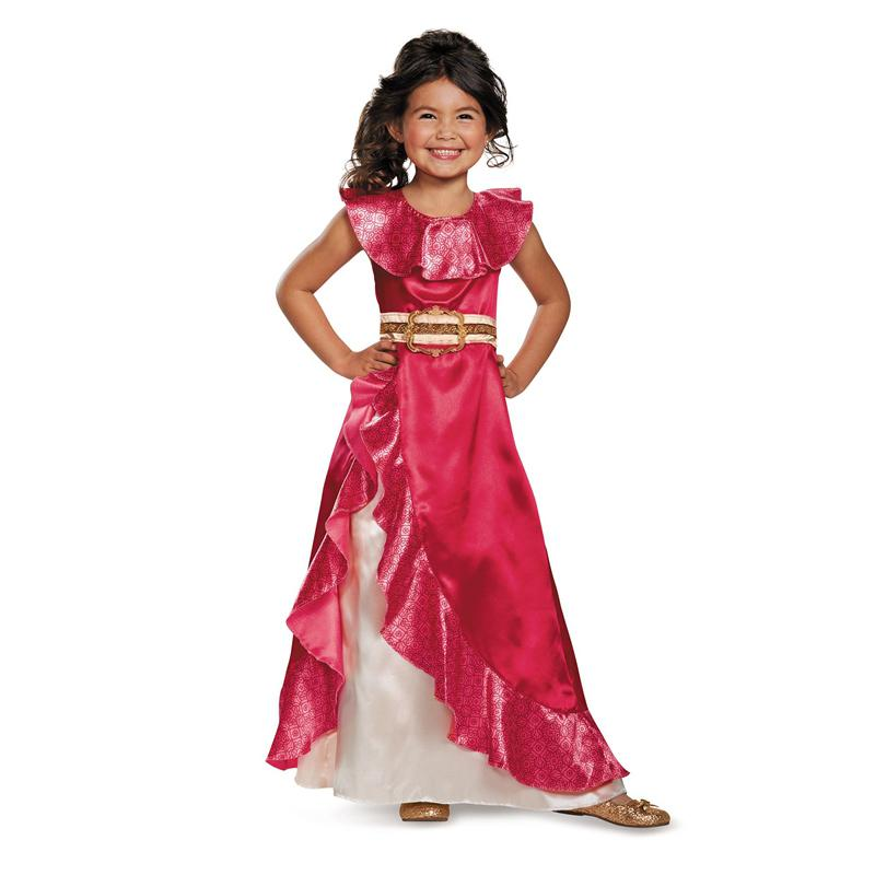 Sale Girls New Favourite Latina Princess Elena From TV Elena Of Avalor Adventure Next Child Halloween Costumes Y1891202