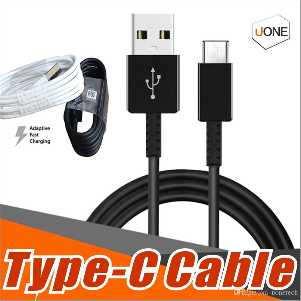 high quality 1.2M 4 ft usb type C sync data cable supply fast charging fit for s8 fast charger work for s8 plus note 7 note 4