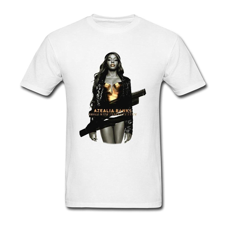 Mens Azealia Banks Broke With Expensive Taste T Shirt Irish T Shirts Art T  Shirts From Yvettestore, $24.2