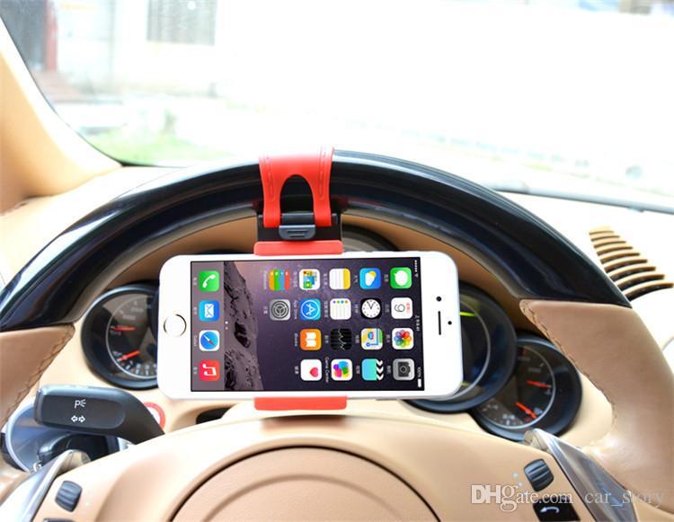 Gancio per telefono cellulare adesivo per portafiltro auto
