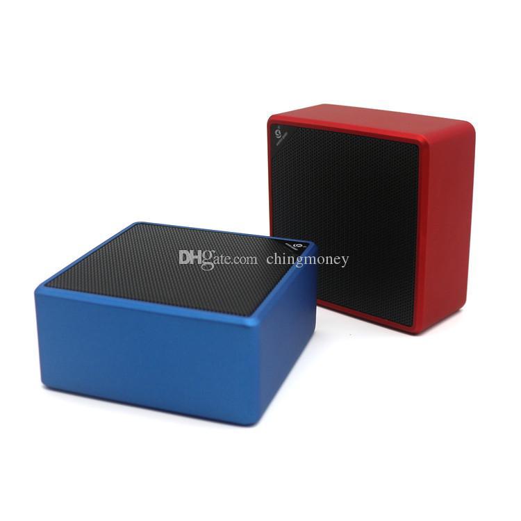 Q7 cube Wireless Bluetooth Speaker Car Handsfree Receive Call Music Mic AUX USB Port TF Card Speake free shipping