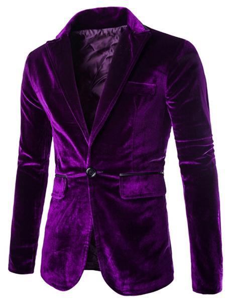 Traje clásico de los hombres delgado sólido de la boda del novio desgaste chaqueta de solapa bolsillo ribete diseño pana abrigo caballeros traje Mariage