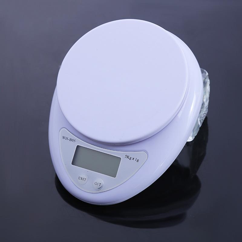 5кг / 1G цифровые весы Почтовая кухня Приготовление еды Диета Грамм OZ LB 5000г светодиодные электронные стендовом Вес Кухонные весы