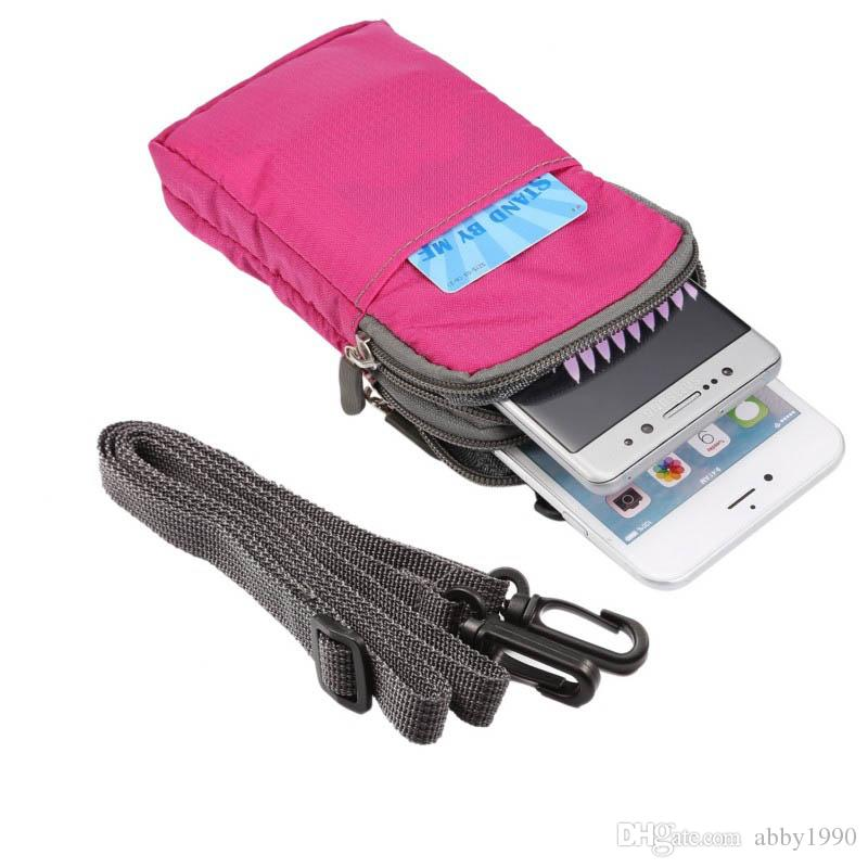 Evrensel Çok Fonksiyonlu Kemer Klipsi Spor Çanta Kılıfı Kılıf için AllView P6 eMagic / P6 Enerji Lite / X3 Soul Mini / V1 Viper L / X2 Soul Lite / A9 Artı