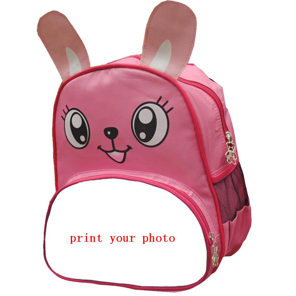zainetto della rana dell'ape per i sacchetti delle scimmie dei ragazzi delle ragazze dei capretti per la pubblicità la vostra foto su ordinazione dei bambini o progettazione o sublimazione al minuto di nome di testo