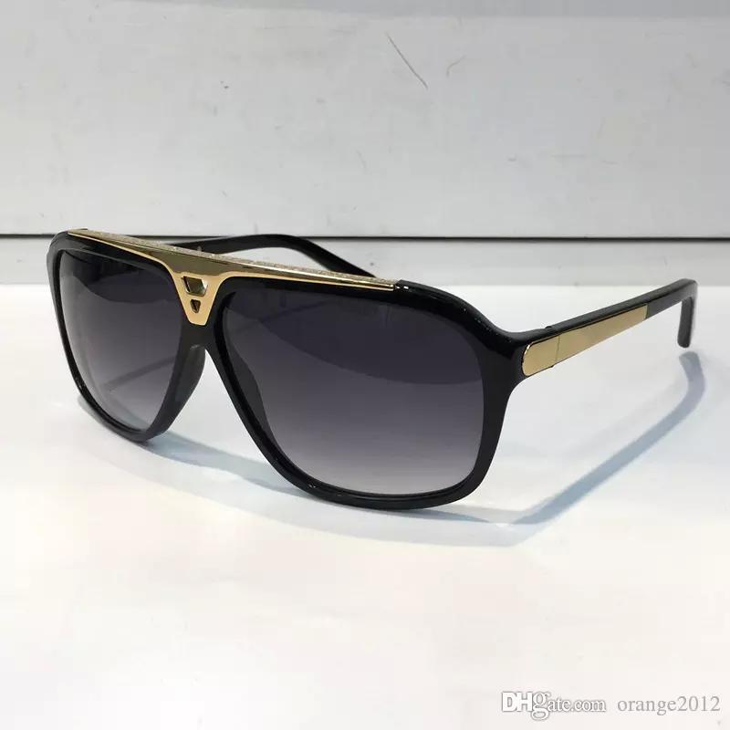 남자 여자를위한 최고 새로운 새로운 색안경 Erika Eyewear 디자이너 상표 썬 안경 매트 표범 그라데이션 UV400 렌즈 상자 및 케이스