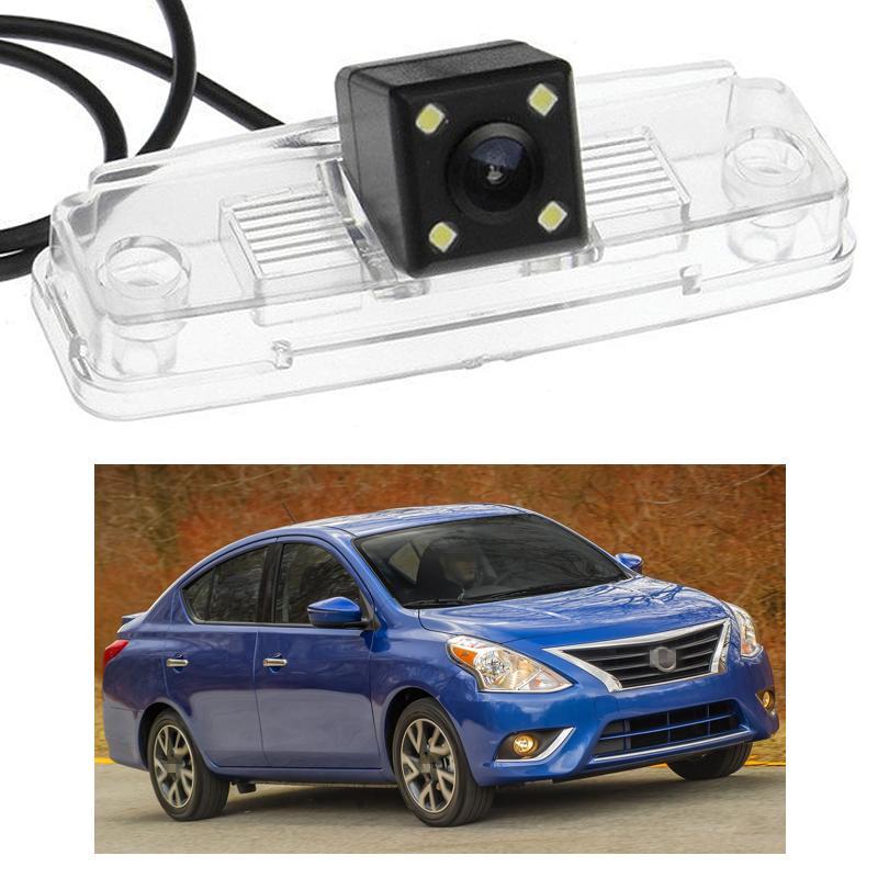 Новый 4 LED автомобиля камера заднего вида обратной резервного CCD подходит для Nissan Versa Sedan 2011-2015