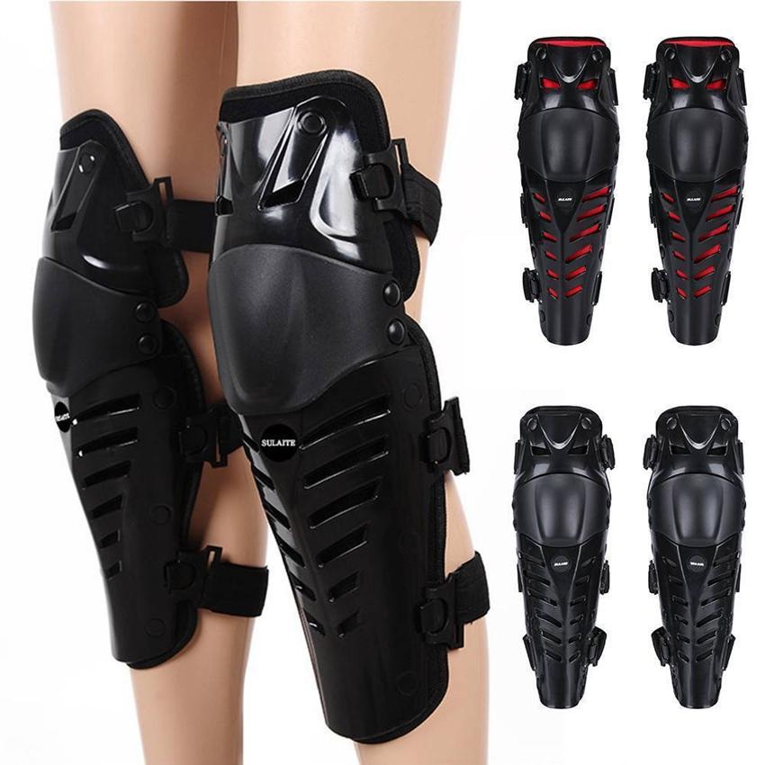 Motorcycle ATV Racing Knee Pads Protector Guards Protective Gear