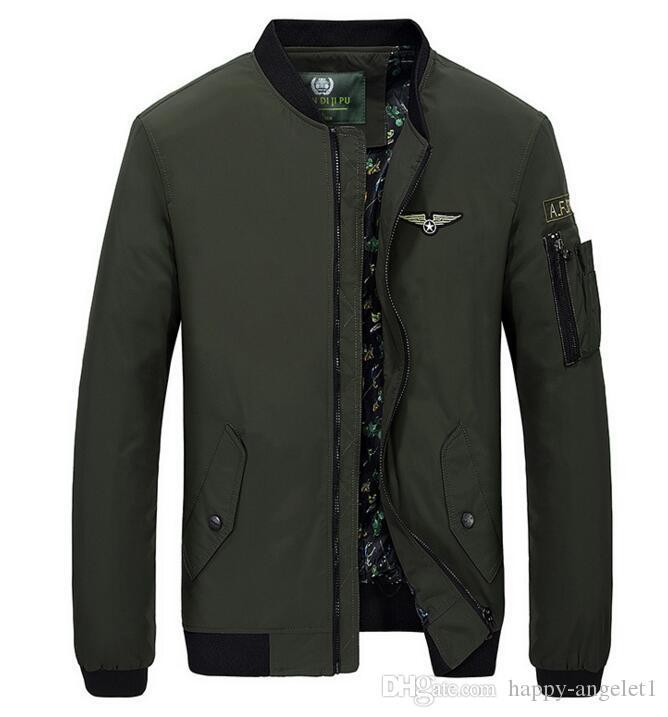 Мужская внешняя торговля новая осенняя куртка мужская одежда летающий костюм большого размера мужская куртка форменная свободная куртка оптом