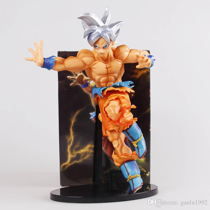 New Action Figure Model Dragon Ball Z Super Ultra Instinct Son Gokou Doll Fashion Home Toy Collection UI Brinquedos Figuarts Gift 30rs YY