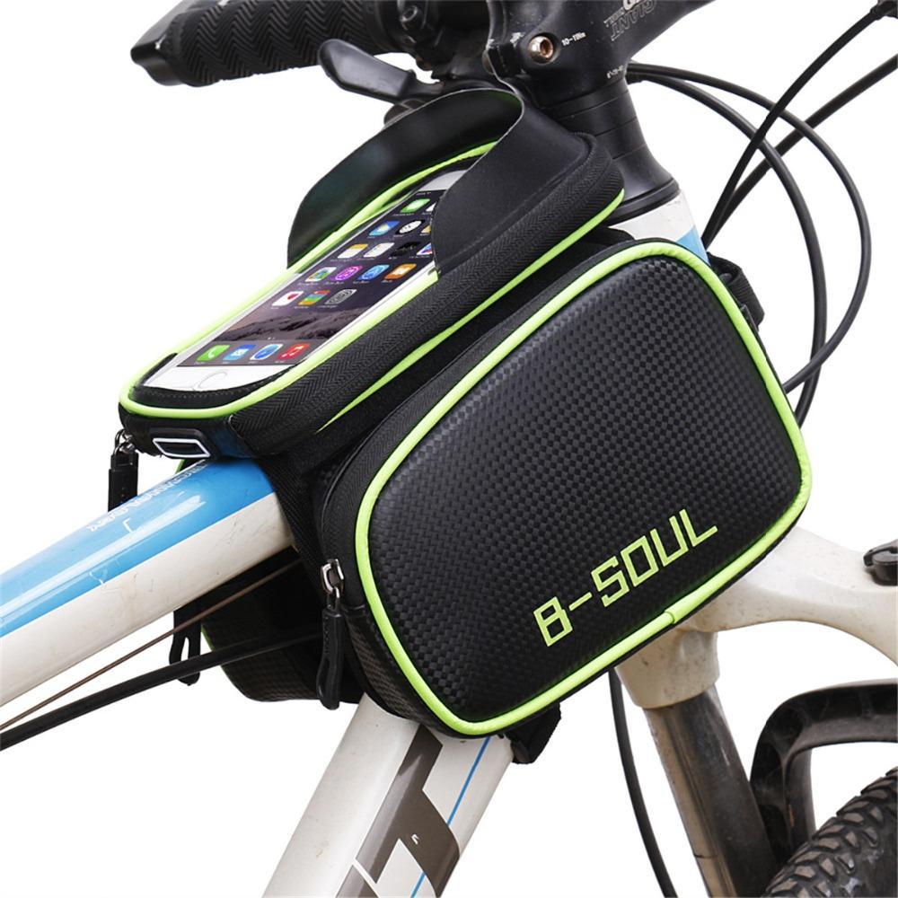 B-SOUL 1 Stk Außen Fahrrad Fahrrad Fahrrad Rahmen Vorder Rohr WasserdichM7H7 2X