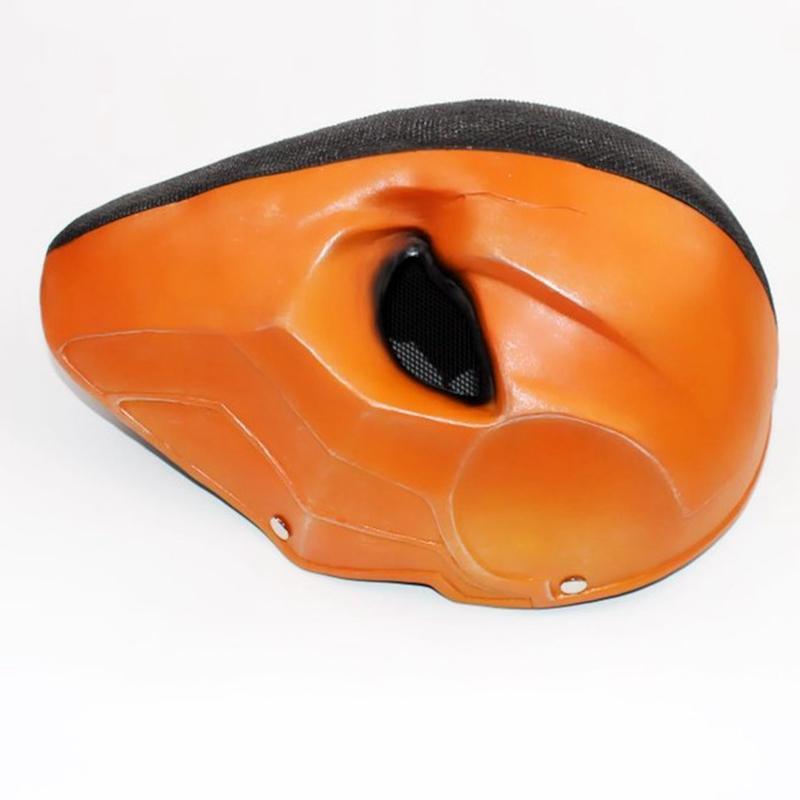 différemment plus près de  Acheter Halloween Arrow Saison Deathstroke Masques Masque Intégral Visage  Deathstroke Cosplay Costume Accessoires Terminator Résine Casque Masque De  ...