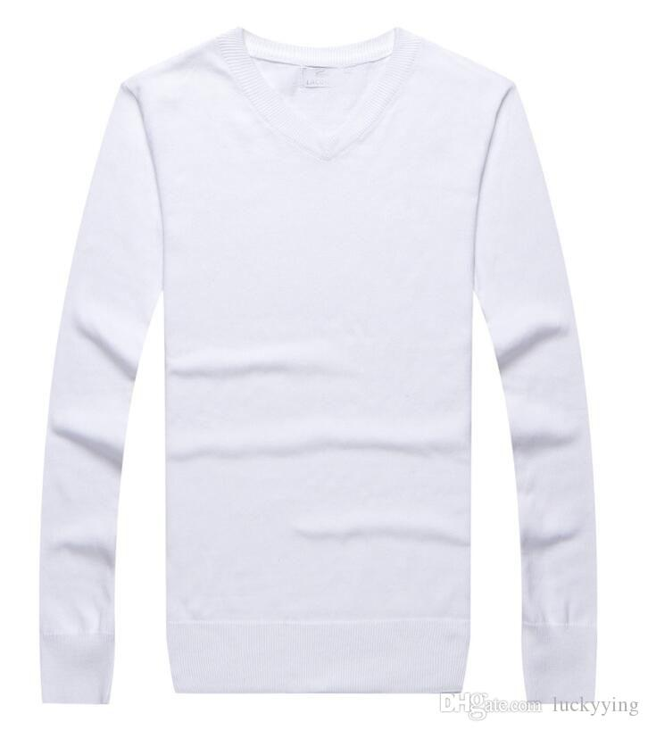 33b59a13 2019 Sweater Spring High Quality Men LACOSTE Cardigan Cashmere Sweater Long  Sleeve Male Jumpers Pullover Sweater From Luckyying, &Price; | DHgate.Com