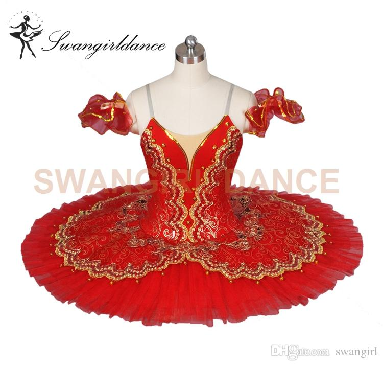 Free shipping women red ballet tutus blue professional classical ballet costumes for performance ballet tutu girlsBT8944