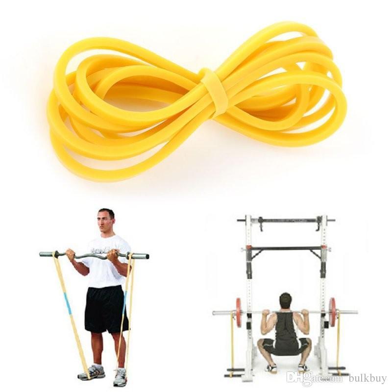 Crossfit Gym Ağırlık Kaldırma Sporu için Vücut Geliştirme Direnç Bandı